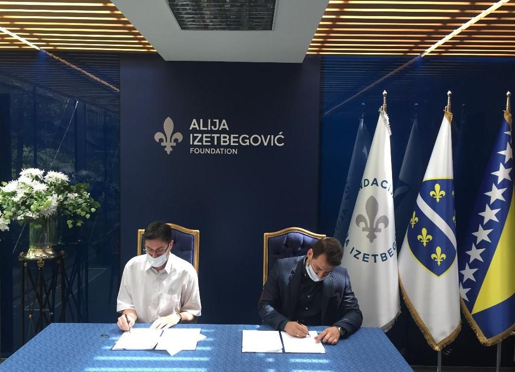 """Fondacija """"Alija Izetbegović"""" i Udruženje """"Mladi muslimani"""" potpisali sporazum o saradnji"""